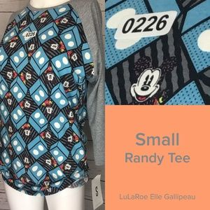 Disney's Mickey Mouse on this LuLaRoe Top
